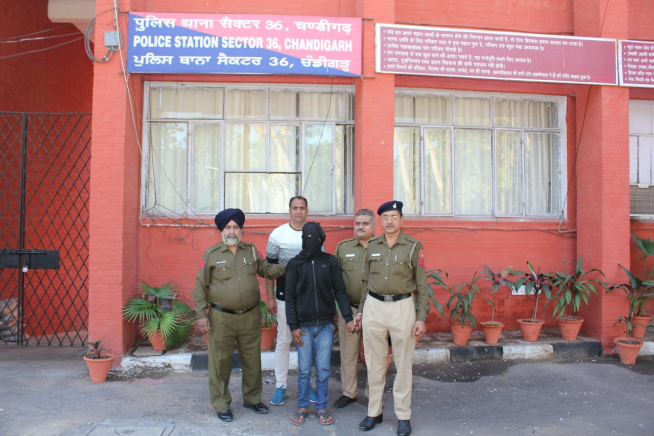 With one arrest Chandigarh Police solved 13 different cases