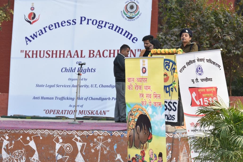 Khushhaal Bachpan' an awareness program organised at Govt